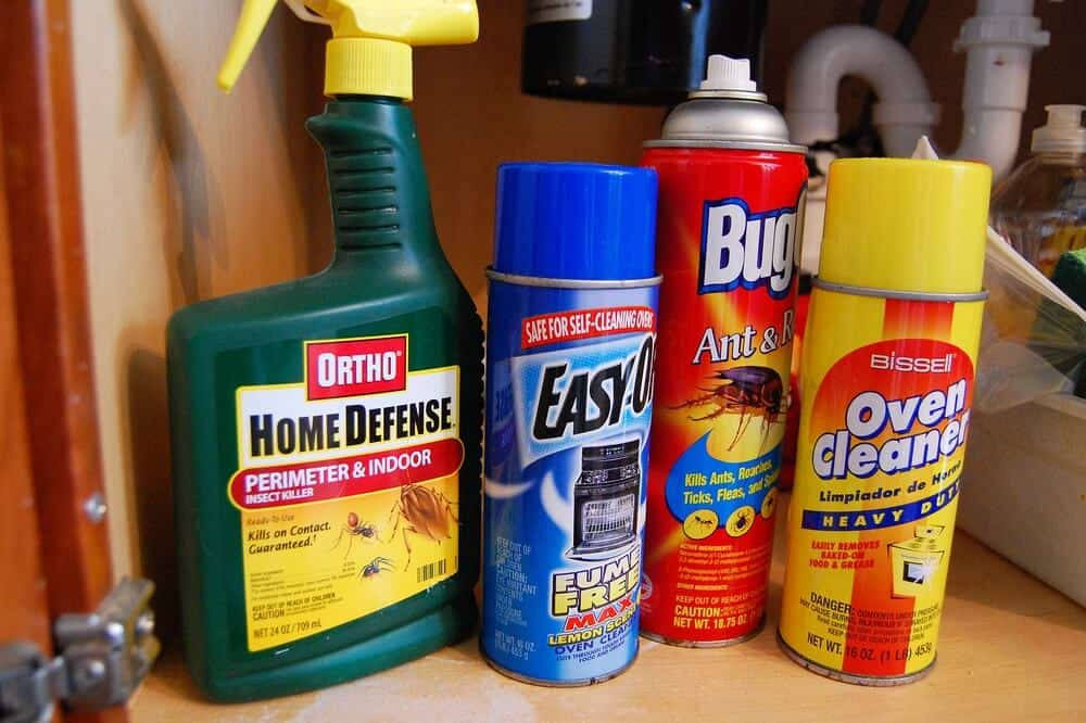 Toxic substances, Safety at home